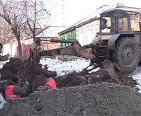 По ул. Пролетарской в Барнауле закрывают движение