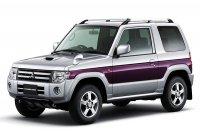 Mitsubishi обновила Pajero Mini (8 фото)
