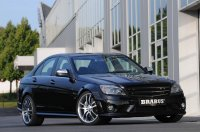 Brabus вселил дьявола в Mercedes-Benz C63 AMG (7 фото)