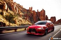 Mitsubishi Evo X в прокачке (10 фото + видео)