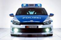 Volkswagen Scirocco с маячками
