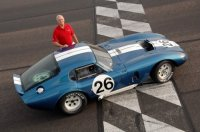 Shelby Daytona Cobra Coupe 1965 легенда гонок FIA ушла с молотка