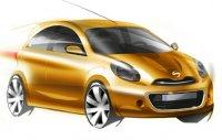 Каким он будет - представлены эскизы нового Nissan Micra