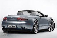 Jaguar XF снесло крышу, получился симпатичный кабриолет