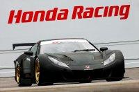 Болид HSV-010 GT от Honda класса Super GT