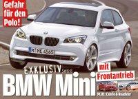 BMW готовит мини хэтчбек