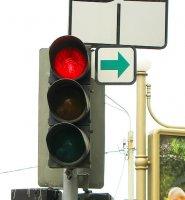 Поворот на красный свет - поправки в ПДД