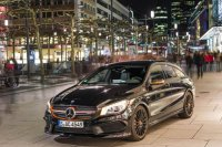 Mercedes-Benz выпускает особую версию CLA 45 AMG Shooting Brake OrangeArt